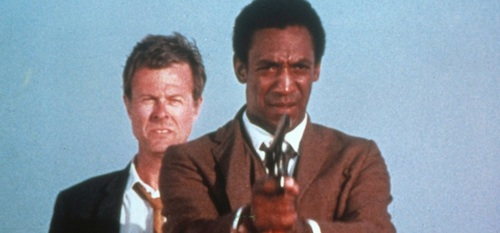 Robert Culp and Bill Cosby