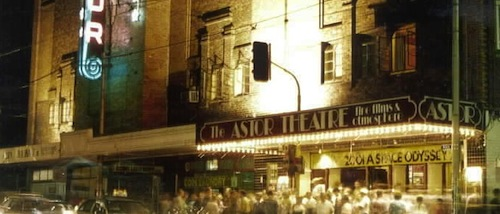 The Astor Theatre exterior