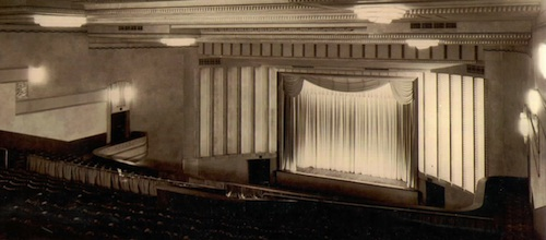 The Astor interior in 1936