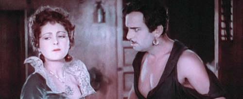 Princess Isobel (Billie Dove) and The Black Pirate (Douglas Fairbanks)