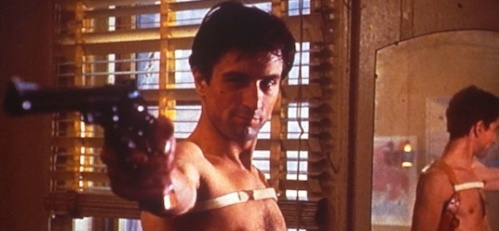 Travis Bickle (Robert De Niro) prepares for a personal war