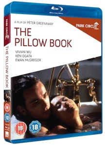 Pillow Book Blu-ray