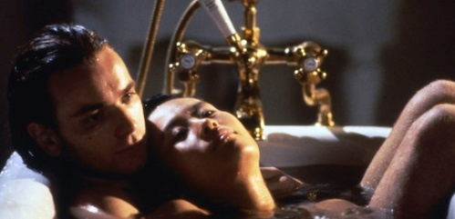 Ewan McGregor and Vivian Wu in The Pillow Book