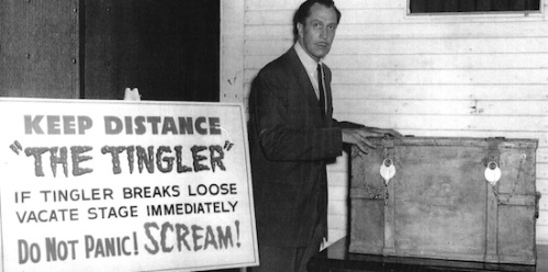 Vincent Price promotes The Tingler