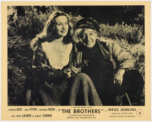 Patricia Roc and Will Fyffe in The Brothers (Image courtesy The National Library of Scotland)