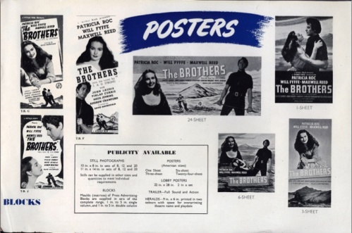 Excerpt from The Brothers pressbook