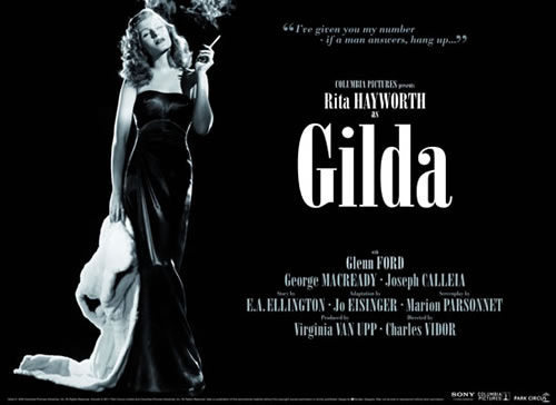 New Gilda poster to accompany cinema re-release | Park ...