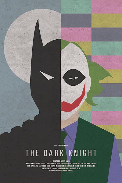 Brandon's The Dark Knight poster