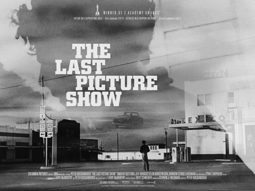 The finished Last Picture Show poster