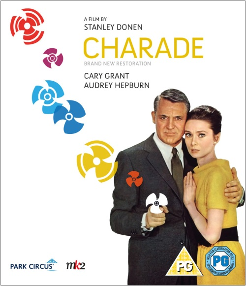 Charade DVD/Blu-ray sleeve