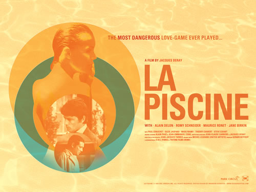 La Piscine re-release poster