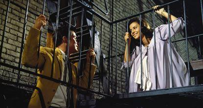 Richard Beymer and Natalie Wood in West Side Story