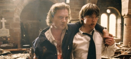 Douglas Henshall and Stephen McCole in Orphans